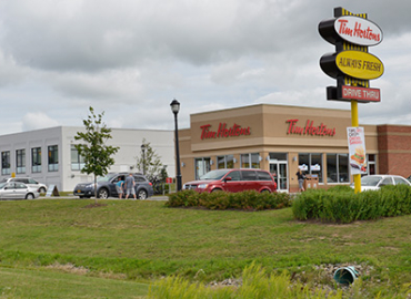 Erin Wellness Centre, Tim Hortons, Prime Beef Bistro Commercial Development (Erin)