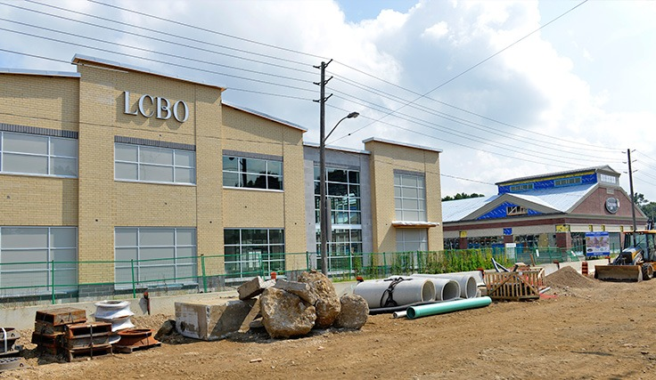 New LCBO and Commerical Development