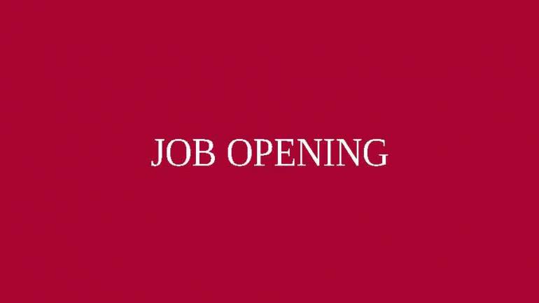 Job Opening: Civil Engineering Technologist